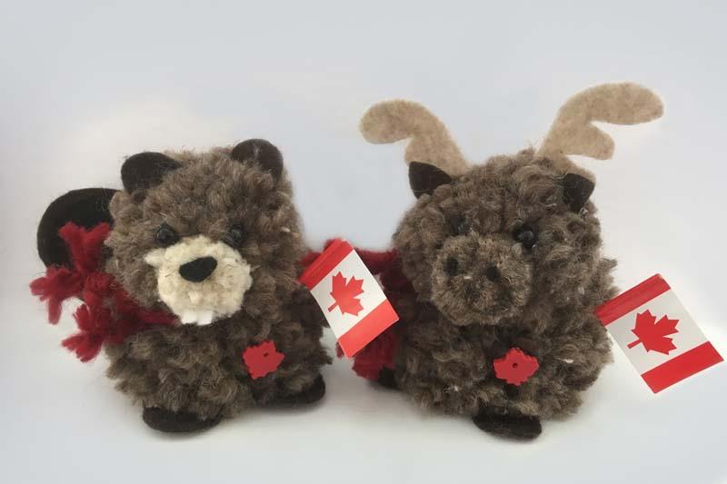 Do it yourself pom pom we are canadian beaver moose kit do it yourself pom pom we are canadian beaver moose kit solutioingenieria Gallery