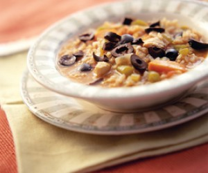 Low-fat Chicken Soup for the Mediterranean Soul