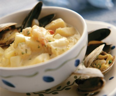 Philip's Favourite Seafood Chowder