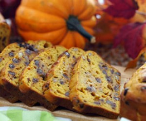 Valley Chocolate Pecan Pumpkin Loaf