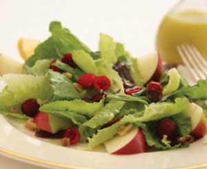 Cranberry Date Salad with Citrus-Honey Vinaigrette