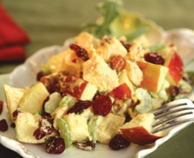 Curried Cranberry Chicken Salad