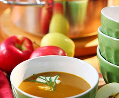 Honey Roasted Apple & Butternut Squash Soup