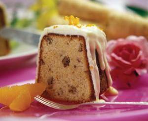 Orange Parsnip Cake with Orange Glaze