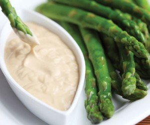 Vermeulen Fresh Asparagus with Wasabi-Mayonnaise