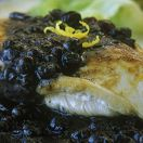 Chicken with Blueberry Sauce