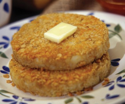 Rolled Oats and Potato Cakes