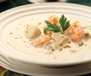 Atlantic  Seafood Chowder
