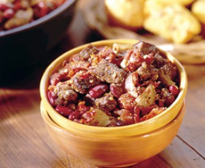 Chunky Chili in a Hurry