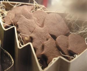 Sheila's Cocoa Shortbread Cookies