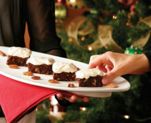 Fruitcake Brownies