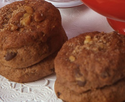 Triple Chocolate Biscuits