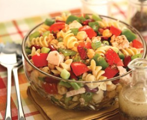 Tuna Pasta and Bean Salad